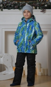 Костюм утепленный Nordski City Blue/Lime/Black Junior