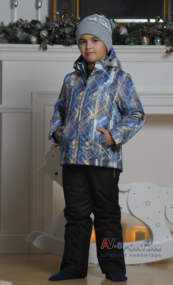 07d94ec101ade Утепленный костюм Nordski City Blue/Yellow/Black / Детские лыжные ...