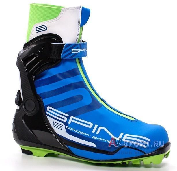69032e55 Купить лыжные ботинки SPINE CONCEPT SKATE SNS 496М недорого в ...