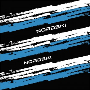 Баф (платок-бандана) NORDSKI Stripe Black NSV409100