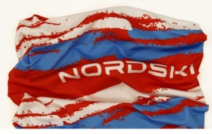 Баф (платок-бандана) NORDSKI Stripe Red-Blue  NSV409987