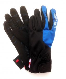 Перчатки Nordski Jr.Racing  black-blue WS юниорские  NSJ147170